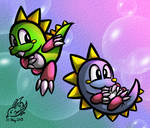 Bubble Bobble - my first action game