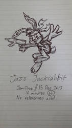 [Sketch] Jazz Jackrabbit