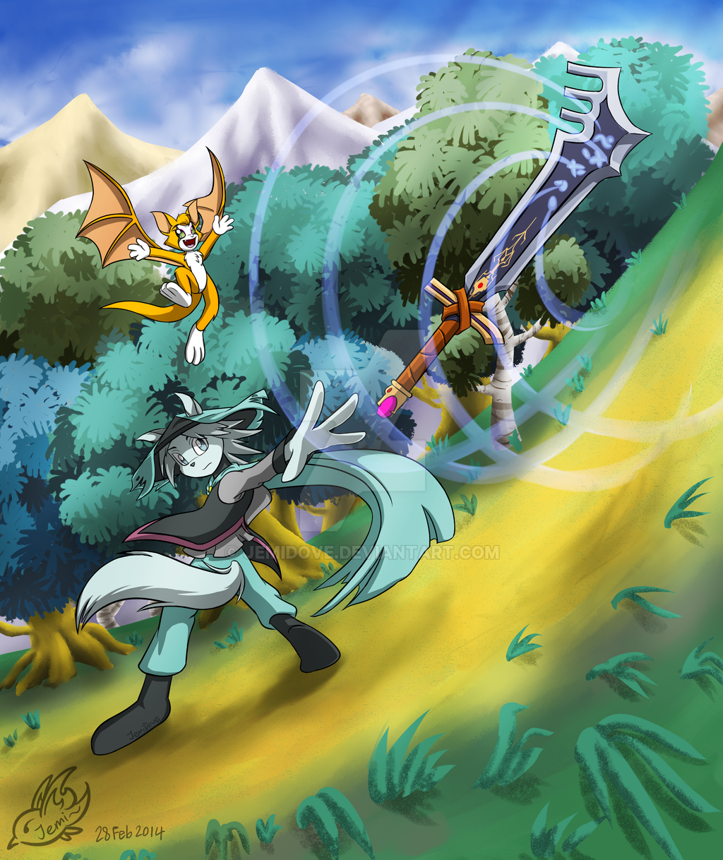 Dust: An Elysian Tail by JemiDove