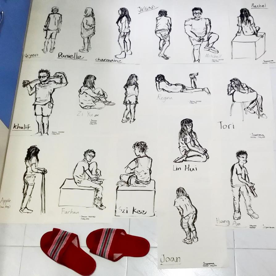 Figure drawings 050514 by JemiDove