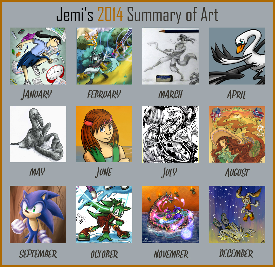 The late summary (2014) by JemiDove