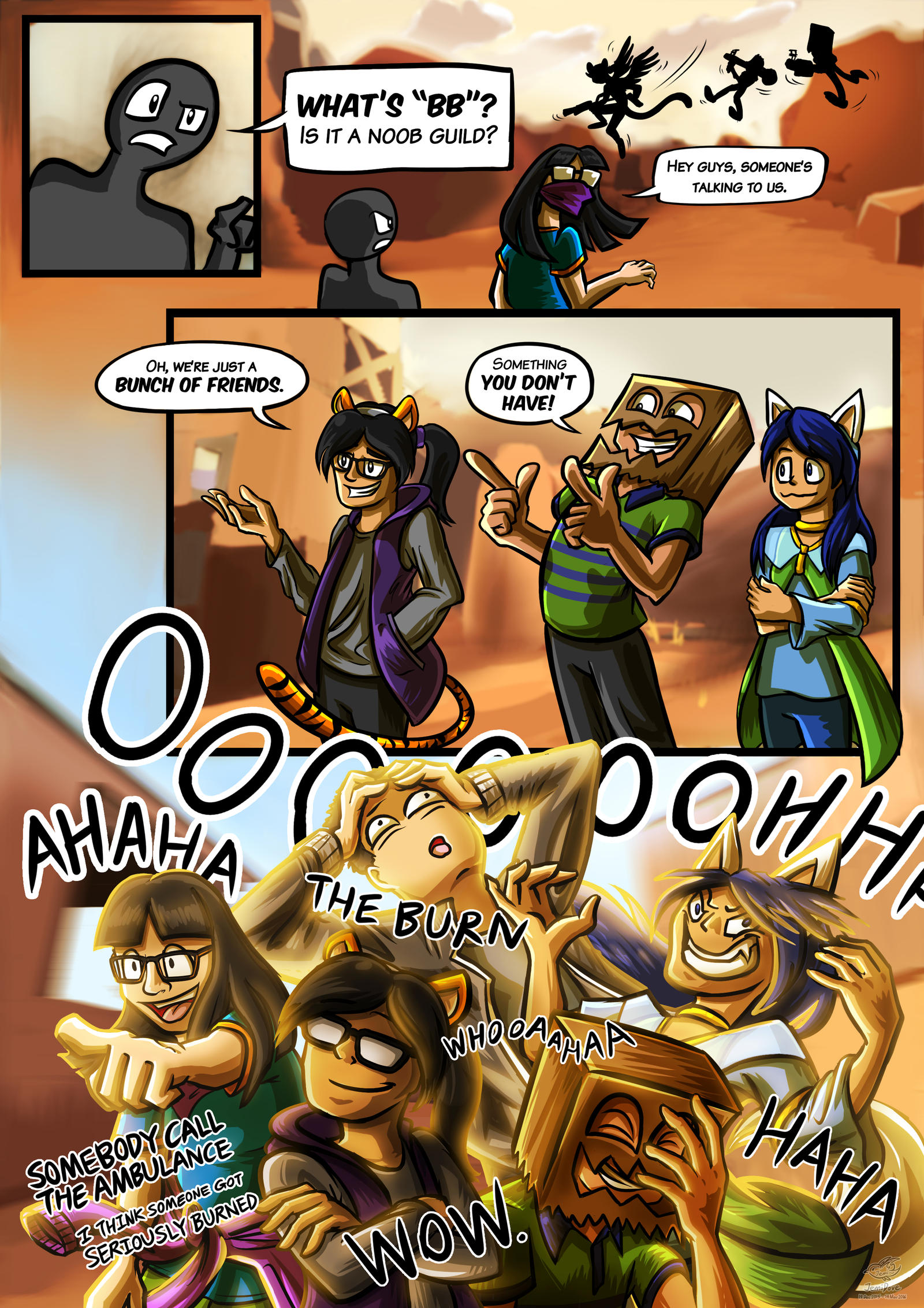 Comic: Blastiful Bunch - What's BB by JemiDove on DeviantArt