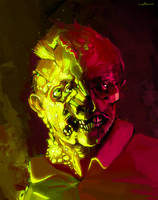 zombie speedpaint under 2 hrs by apterus