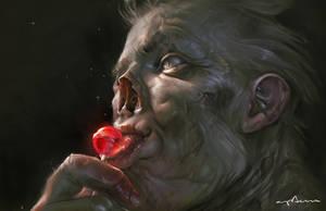 Lollipop Ghoul by apterus