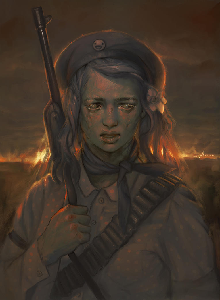 Ghoul Scout by apterus