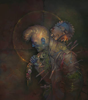 Mr. Pompaghoul on a path of revenge by apterus