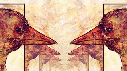 Birds,  smoke and mirrors