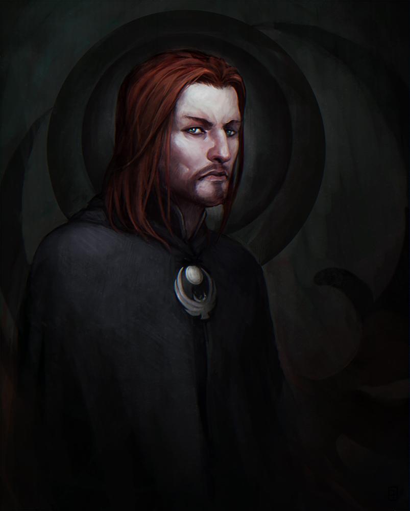 Skyrim: Brynjolf by Cornis