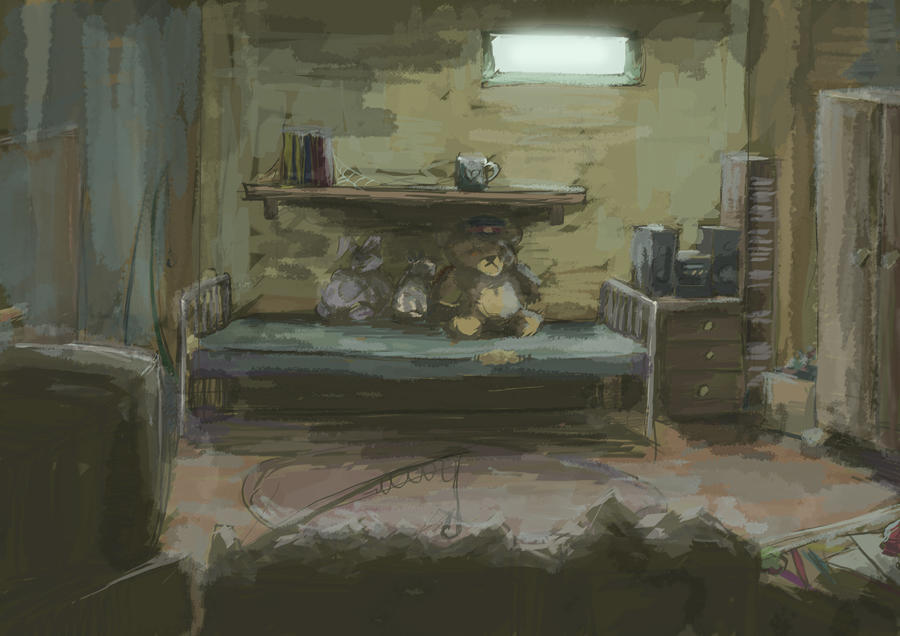The Bedroom by PencilLover