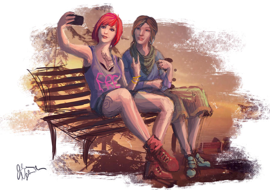 Life is Strange AU by PencilLover