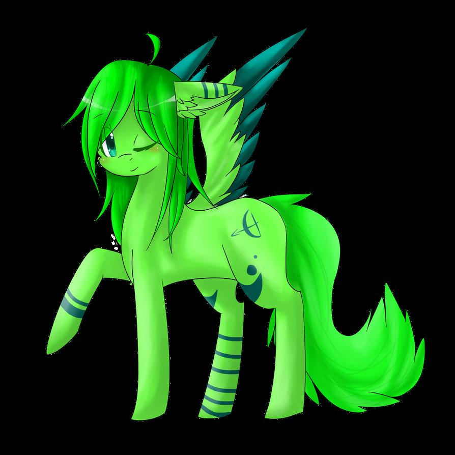 Re-make my Pony o.c by Catniim