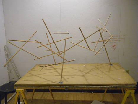 Small Scale Tensegrity Structure