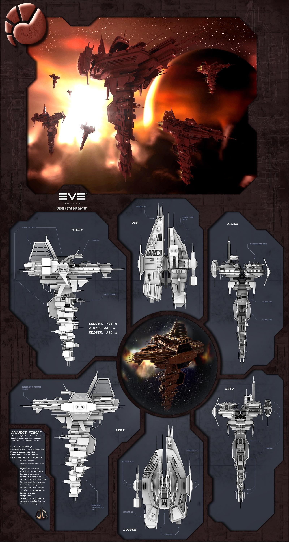 'Thor' - Minmatar battleship by XArgon42
