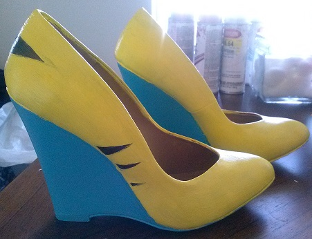 Wolverine Cosplay wedges by CharleneRenegade