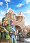 Carcassonne Winter-Edition Cover