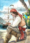 ACEO Pirate