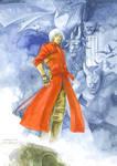 Dante in Blue
