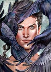 Ravens by engelszorn