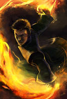 The Firebender by engelszorn