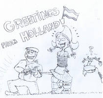 Greetings from Holland by bebob4999