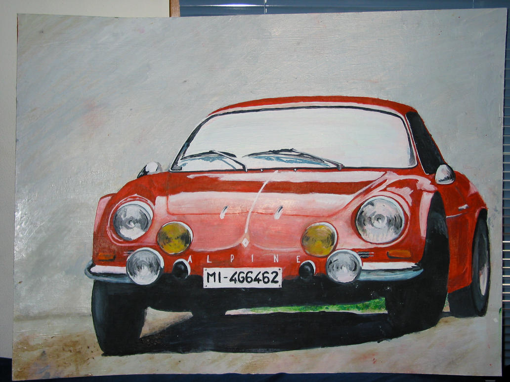 Renault Alpine A110 by