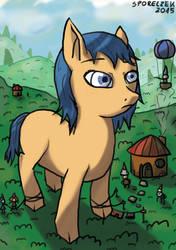 My Big Pony and My Little Dwarfs by Sporeczek
