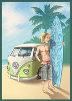 kyle krotch and the love-wagon by hollietree