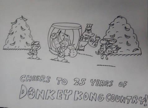 Donkey Kong Country 25th Anniversary