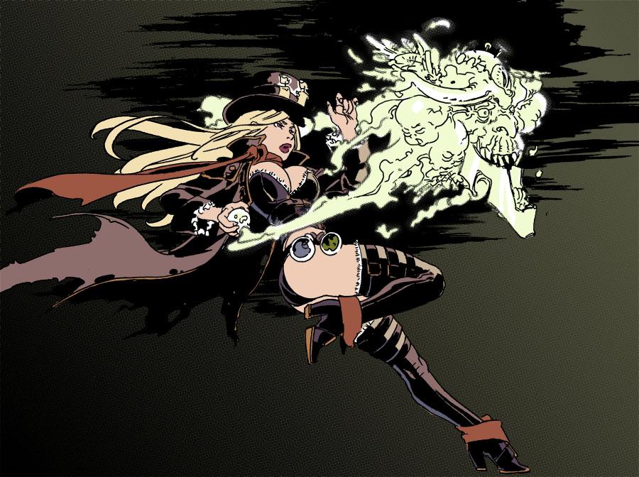 Steam Witch by sidneymt
