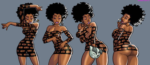 Afrolicious sequence by sidneymt