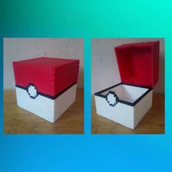Pokeball box (Perler Beads) by Mega-Shadow-Mewtwo-Y