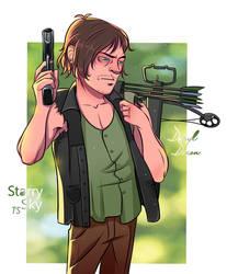 Daryl Dixon by TommySamash
