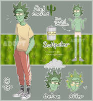 [OPEN] Cactus Rick auction by TommySamash