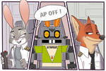 Commission Airlines Zootopia