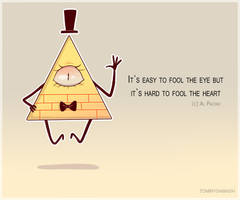 Bill Cipher by TommySamash