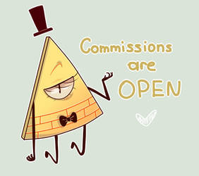 Commisions are open|Have fun with Bill by TommySamash