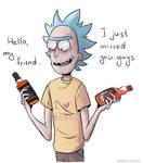 Rick's two best friends!