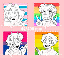 [OPEN|Unlimited Slots] PRIDE YCH (4$/400 points) by TommySamash
