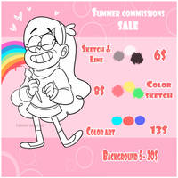 [Open| Unlimited] BEST Summer Commissions SALE! by TommySamash