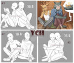 New 3 Couple YCH [Open|Unlimited] by TommySamash