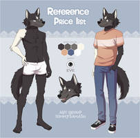 Furry Reference Price List [Commissions OPEN] by TommySamash