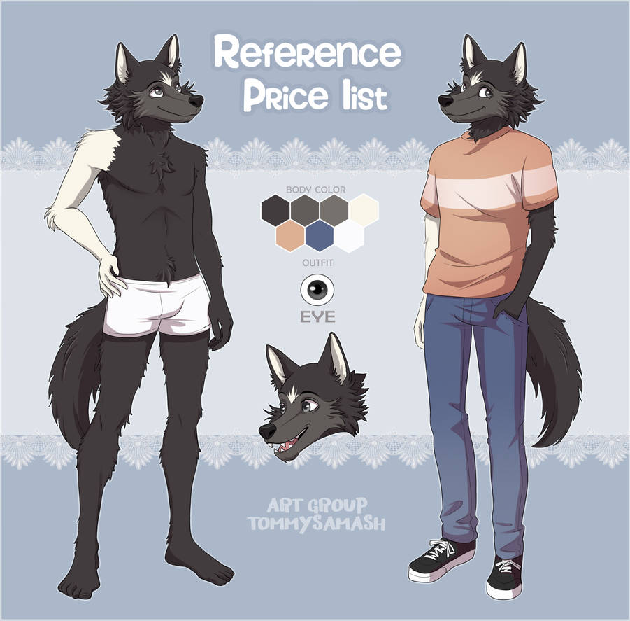 Furry Reference Price List [Commissions OPEN]