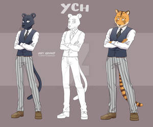 Furry YCH [OPEN|Unlimited]