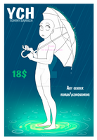 YCH Umbrella [Open|Unlimited Slots] by TommySamash