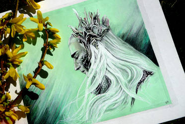 Thranduil by Marrannon