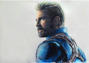 Steve Rogers - Infinity War by Marrannon