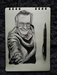 Stan Lee by Marrannon