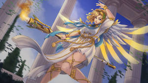 Winged victory Mercy by Tropic02