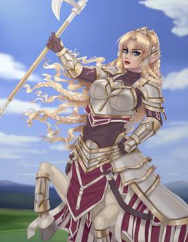 Elindria - Paladin centaur