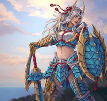 Monster Hunter - Zinogre armor set